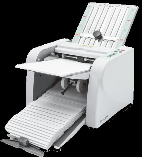 Printer Afbeelding Ideal vouwmachine
